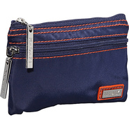 Nylon Jewelry Pouch Navy/Orange - Hadaki Packing A