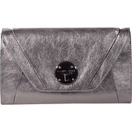Cordoba Clutch Graphite - Elliott Lucca Leather Ha