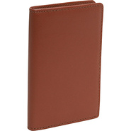 Cowhide Leather Credit Card Case - Brown