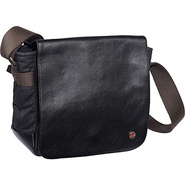 Rockefeller Waxed Shoulder Bag (XS) Black - TOKEN
