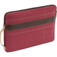 Canvas Sleeve for 13  MacBook Pro Red/Tan - Nuo La