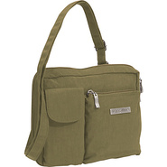 Wallet Bagg Large Crinkle Nylon - Dark Olive