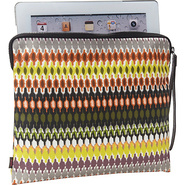 African Dots Tech Pouch Bright Multi - Echo Laptop