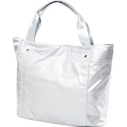 Wellie Travel Tote - Silver