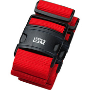 2 Deluxe Travel Belts - Red