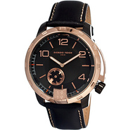 Vintage VI Men's Watch Black/Rose Gold - Giorgio F
