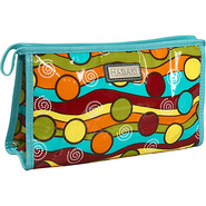 Printed Coated Toiletry Pod - Multi Colored