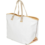 Carina Large Tote - White