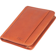 Classic Zippered Folio - Saddle
