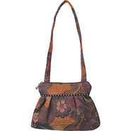 Addie Shoulder Bag Botanic Rust - Maruca Design Fa