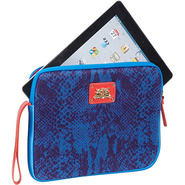 La Python Snake iPad  Wristlet  - Neoprene Bright 