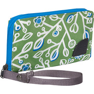 Large Wallet - Moss Blue Jay