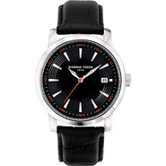 Vintage III Men's Watch - Leather Black/Sliver - G