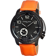 Vintage VI Men's Watch Orange/Black - Giorgio Fedo