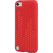 Microtexture for iPod Touch 5G Ruby Red/Scarlet Re
