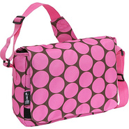 Big Dots Pink Kickstart Messenger Bag - Big