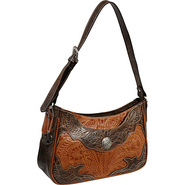 Renegade Collection Zip-Top Shoulder Bag Harvest T