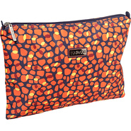 Large Zippered Carry All Arabesque Pebbles - Hadak