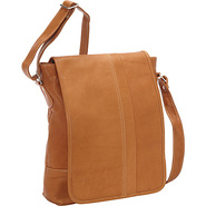 Deluxe Square Messenger Tan - David King & Co. Mes