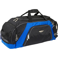 E2 Manchester 26  Duffle - Black Blue