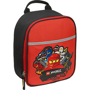 Ninjago Four Ninjas Vertical Lunch Bag RED - LEGO 