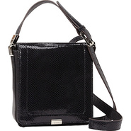 Harper Flap Crossbody Black - B. Makowsky Leather