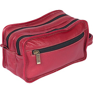 Luxury Travel Kit - Red