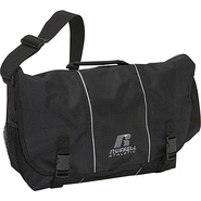 Deluxe Messenger Bag - Black