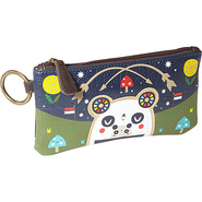 Crowded Teeth Panda-Roo Coin Bag Navy Blue/Multi -