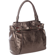 Cordoba Box Tote Dark Pewter Metallic - Elliott Lu