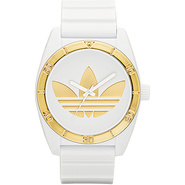 Originals Santiago White and Gold - adidas origina