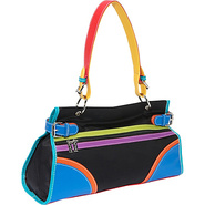 Color Block Shoulder Bag - Shoulder Bag
