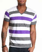 Wesc Men Striped Tee Grey X-Large