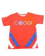 Coogi Boys V-Neck Coogi Tee (4-7) Orange 7