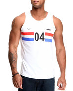 Men Sport 04 Tank White Medium