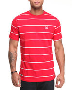 Mo7 Men Jersey Crew Neck Tee Red X-Large