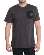 Men Required Alpha Crew Shirt Charcoal Xx-Large
