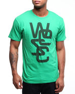 Wesc Men Overlay Tee Green X-Large