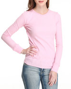 Women Thermal Soild Jr Pink Large