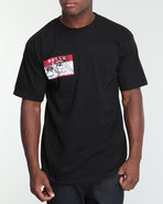 Men Hello Rook Tee Black Medium