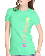Women Catch Away Tee Green Medium