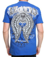 Men Efan Tee Blue X-Large