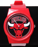 Men Chicago Bulls Pantone Nba Flud Watch Red