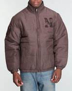 Mo7 Men Mo7 Padded Jacket Brown Large
