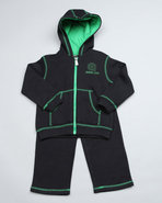 Boys Sport Set (Infant) Black 12 Mo