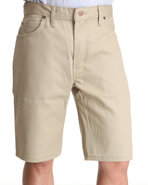 Men 11'' Slim Fit 5-Pocket Twill Short Khaki 30