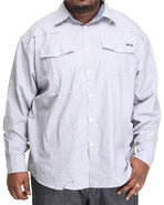Men Towshend Stripe Shirt (B&T) Grey 6X