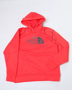 Boys Surgent Pullover Hoodie Red X-Small