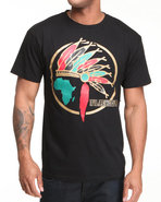 Drj Underground Men Chief Flaucy Tee Black Medium