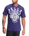 Men Pelle Elite S/S Tee Purple Large